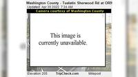 Sherwood: Washington County - Tualatin - Rd at ORW - Actuales