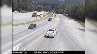 Big Eddy Settlement > East: , Hwy  at Hwy  in Revelstoke, looking east - Overdag