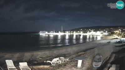 Unije: View towards the dock