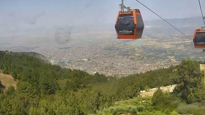 Tageslicht webcam ansicht von Pamukkale: Denizli Teleferik
