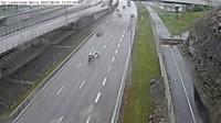 Skarholmens stadsdelsomrade: Tpl Lindvreten norra (Kameran �r placerad p� E/E S�dert�ljev�gen vid trafikplats Lindvreten norra och �r riktad mot Stockholm) - Overdag