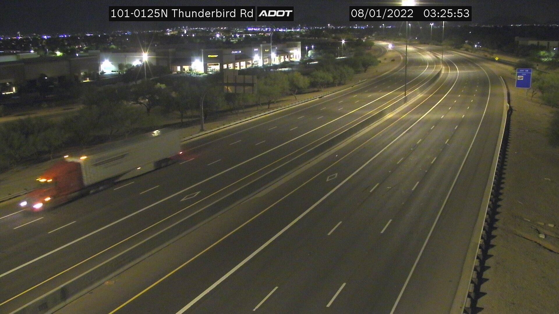 Webcam Cottonwood Ranch: Loop 101 South @ Thunderbird