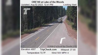 Vista de cámara web de luz diurna desde Lake of the Woods: ORE140 at