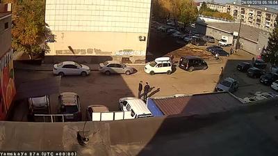 Webkamera Tyumen: г − ул.Республики, Сквер Немцова