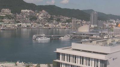Webcam Nagasaki: 長崎港・常磐出島地区