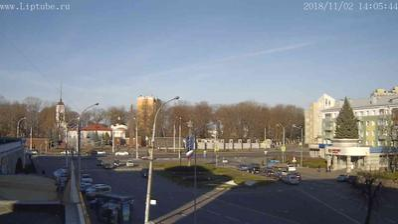 Webcam Lipetsk: Камера на пл. Героев в Липецке