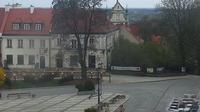 Sandomierz: Rynek - widok od ulicy Opatowskiej - Actual