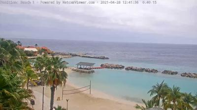 Daylight webcam view from Willemstad: Caribbean Netherlands