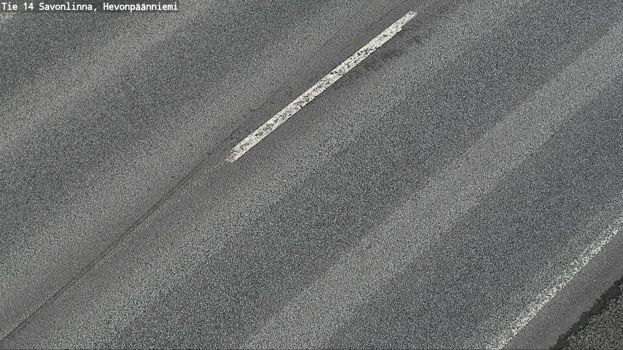 Webcam Savonlinna: Tie14 − Hevonpaanniemi − Tienpinta
