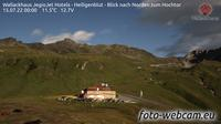 Heiligenblut am Grossglockner: Berggasthof Wallackhaus - Heiligenblut - Blick nach Norden zum Hochtor - Current