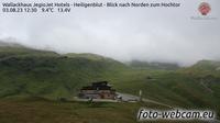 Heiligenblut am Grossglockner: Berggasthof Wallackhaus - Heiligenblut - Blick nach Norden zum Hochtor - El día