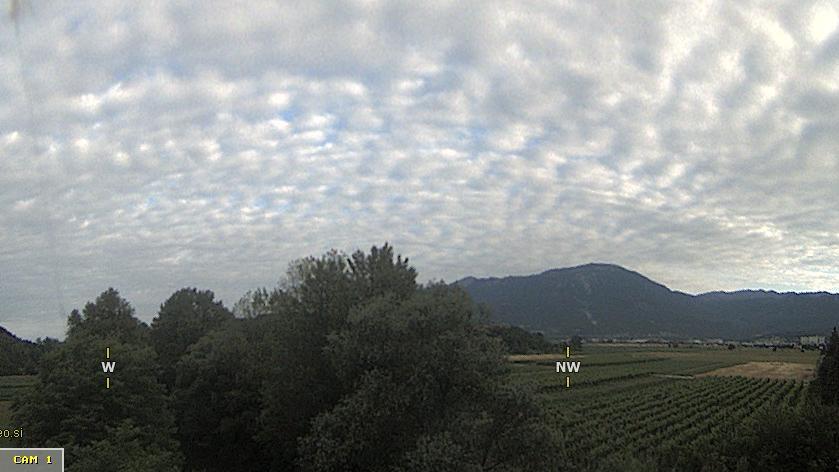 Webcam Dolenje › North-East: Ajdovščina