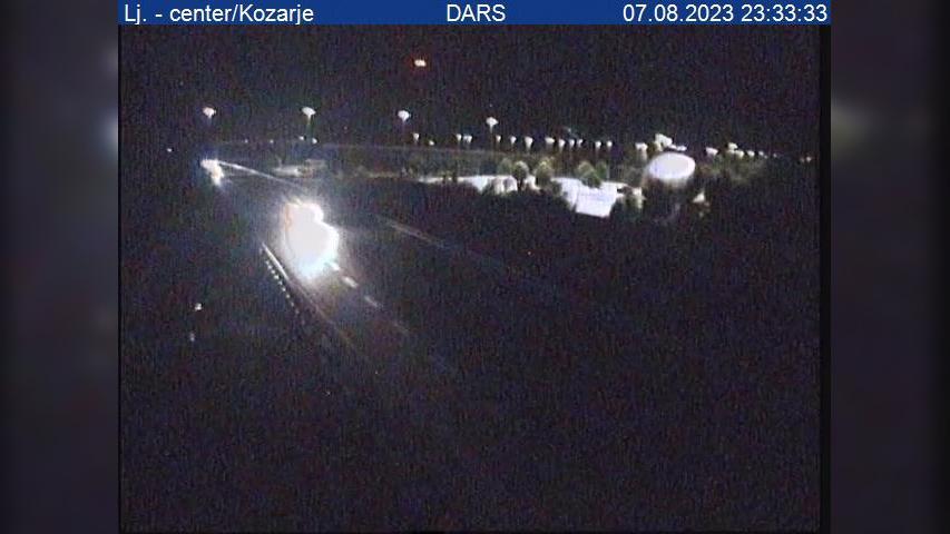 Webcam Ilovica: A1/E70 − južna obvoznica, Lj. − center