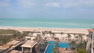 Vue webcam de jour à partir de Abu Dhabi: The St. Regis Saadiyat Island