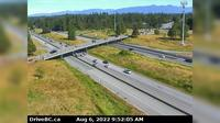 Township of Langley > West: , Hwy  at nd St. overpass, looking west - Recent
