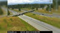 Township of Langley > West: , Hwy  at nd St. overpass, looking west - Overdag