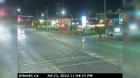 Duncan > North: , Hwy  in - at Trunk Rd, looking north - Recent