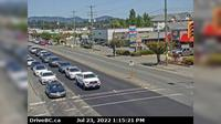 Duncan > North: , Hwy  in - at Trunk Rd, looking north - Overdag