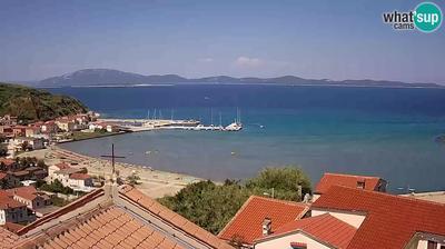 Susak: Panoramic view