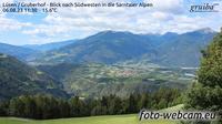 Lusen - Luson: Gruberhof - Blick nach Südwesten in die Sarntaler Alpen - Aktuell