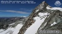 Kals am Grossglockner: Adlersruhe - Blick nach Westen zum Gro�glockner - Dagtid