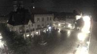 Göttingen: Historisches Rathaus mit Gänseliesel-Brunnen - Aktuell