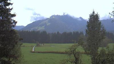 Vista de cámara web de luz diurna desde Kössen: Koessen online Webcam