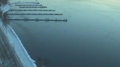 Webkamera Falun: Hälsninggårdsbryggorna
