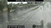 Caloundra: Nicklin Way - Wurtulla, Pringa Street intersection (looking South) - Dagtid