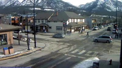 Tageslicht webcam ansicht von Canmore: 8 St