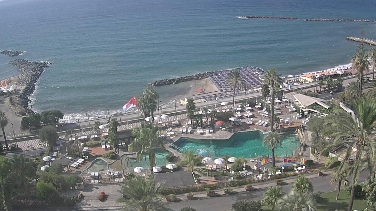 Webcam Sanremo - Royal Hotel Sanremo