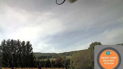 Tageslicht webcam ansicht von Kreuth: Private Wetterstation − Gemeinde Sieghartskirchen Bezirk Tulln an der Donau