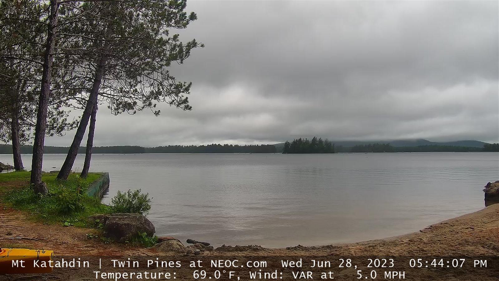 Webcam Norcross › North: Mt Katahdin