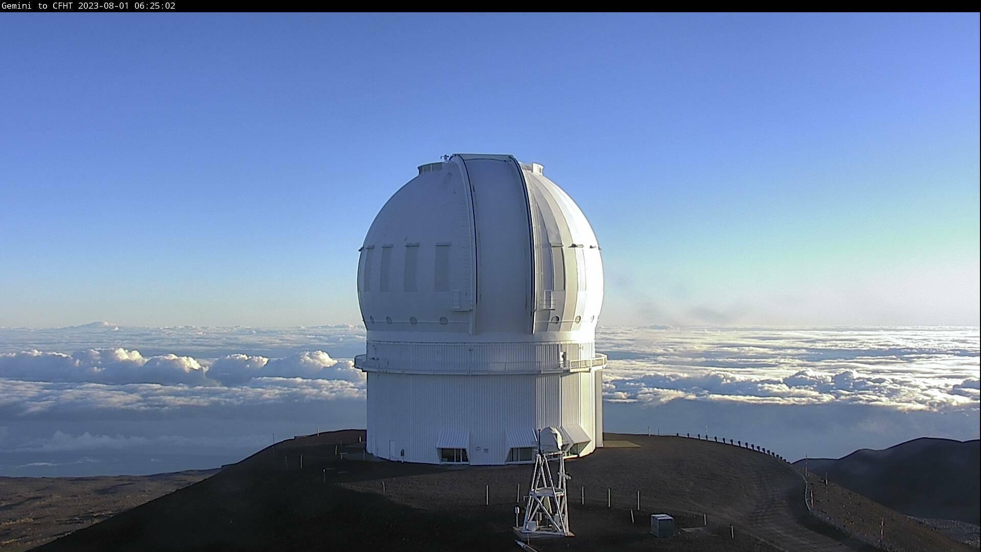 Webcam Hanaipoe: Mauna Kea − TCFH Telescope
