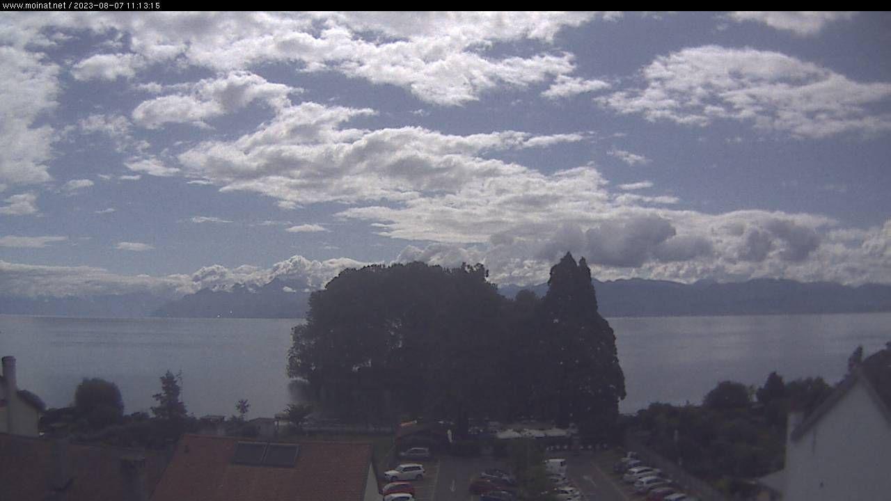Webcam sur le lac à Rolle
