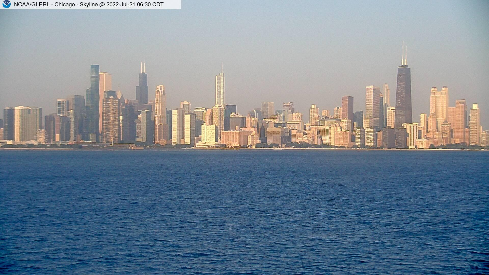 Webkamera Chicago: Panorama