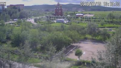 Webcam Krasnokamensk: парк им.Покровского