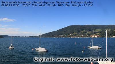 Thumbnail of Rottach-Egern webcam at 11:15, Apr 23