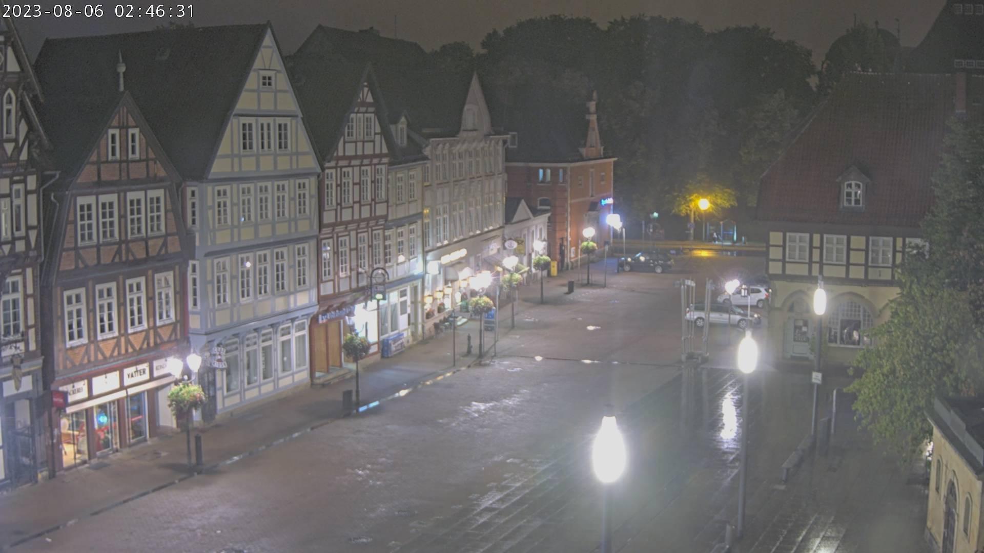 Webkamera Celle: Celler Innenstadt − Stechbahn