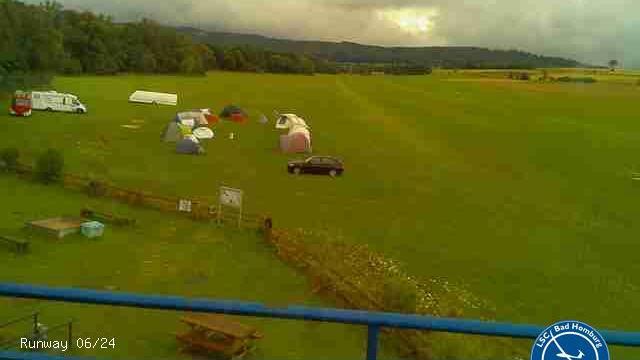 Webcam Obernhain › West: Flugplatz Anspach/Taunus (EDFA):