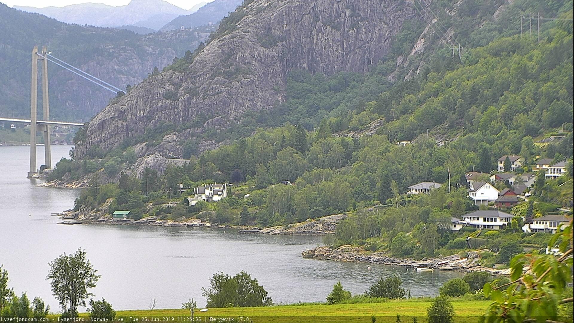 Webkamera Forsand › North: Bergevik: Bergevik