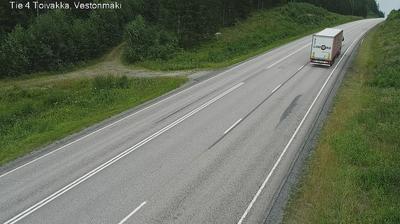 Current or last view from Toivakka: Tie 4 − Vestonmäki − Lahteen