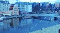 Ultima vista de la luz del día desde Gdańsk: Widok na Motławę