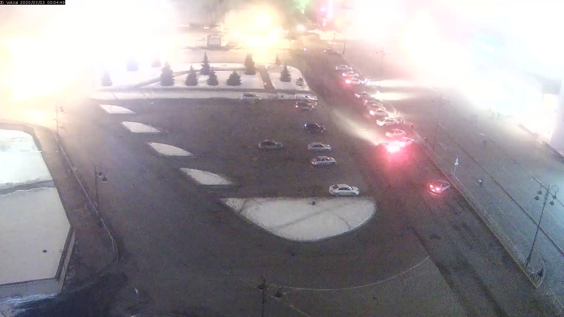 Webkamera Tyumen: Привокзальная площадь