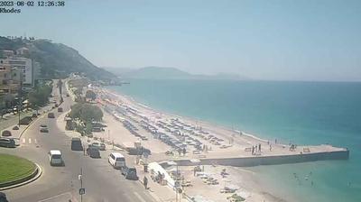 Daylight webcam view from Rhodes › West: Akti Kanari