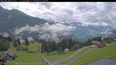 Vue webcam de jour à partir de Kristberg › South West: Verwall und Rätikongebirge