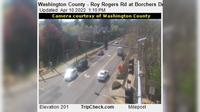 Sherwood: Washington County - Roy Rogers Rd at Borchers Dr - Overdag