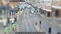 Croydon: A Streatham H Rd/Stanthorp Rd - Day time