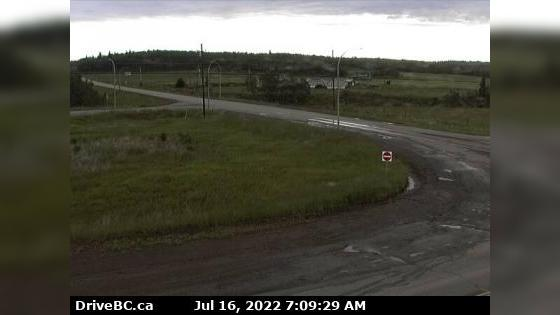 Webcam Vanderhoof › North: Hwy 16 at Hwy 27 junction, loo