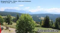 Ritten - Renon: Berggasthof Pl�rr - Blick nach S�dosten - Overdag